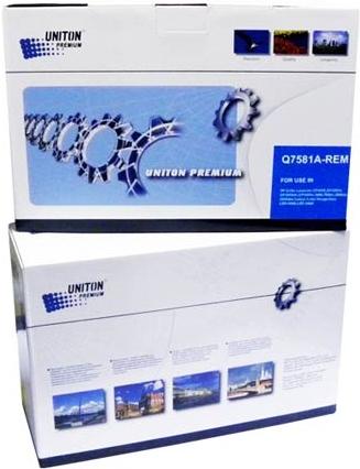Картридж совместимый UNITON Premium Q7581A (503A) голубой для HP