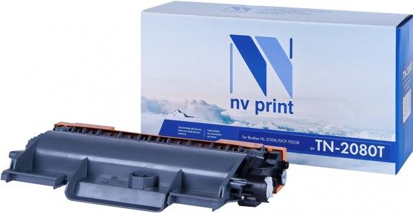 Картридж совместимый NVPrint TN-2080T для Brother