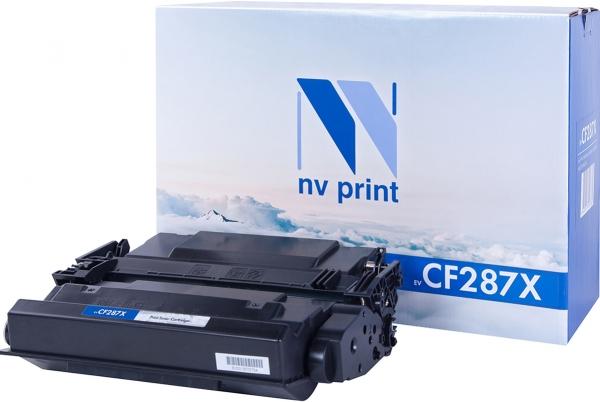 Kартридж совместимый NVPrint CF287X для HP
