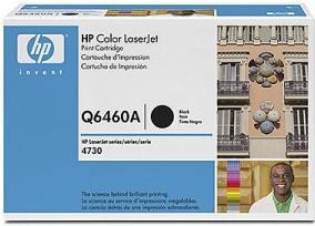 Картридж HP Q6460А черный оригинальный