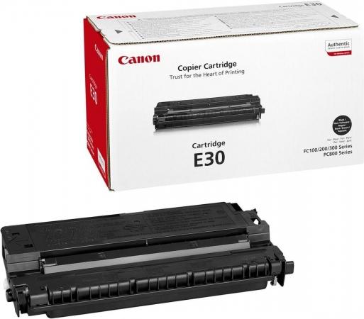 Картридж Canon E-30 1491A003 черный оригинальный