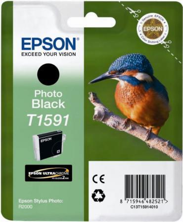 Картридж Epson C13T15914010 фото-черный оригинальный
