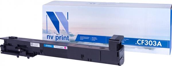 Картридж совместимый NVP CF303A пурпурный для HP