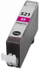 Картридж совместимый SuperFine CLI-521M пурпурный для Canon