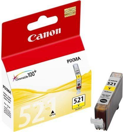 Картридж CANON CLI-521Y желтый оригинальный