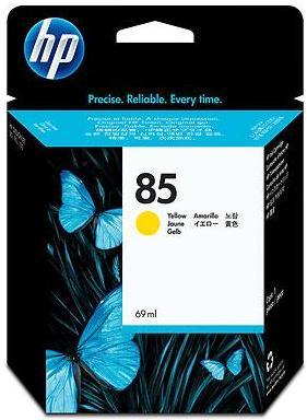 Картридж HP C9427A желтый оригинал