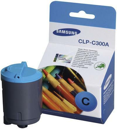 Картридж Samsung CLP-C300A голубой совместимый