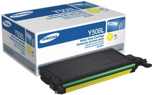 Картридж Samsung CLT-Y508L желтый оригинальный