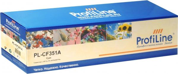 Картридж совместимый ProfiLine CF351A Cyan для HP
