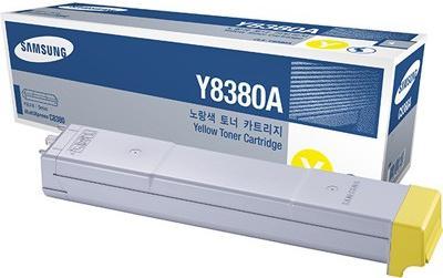 Картридж Samsung CLX-Y8380A желтый оригинальный
