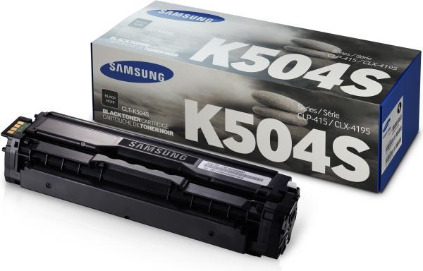 Картридж Samsung K504S черный оригинальный