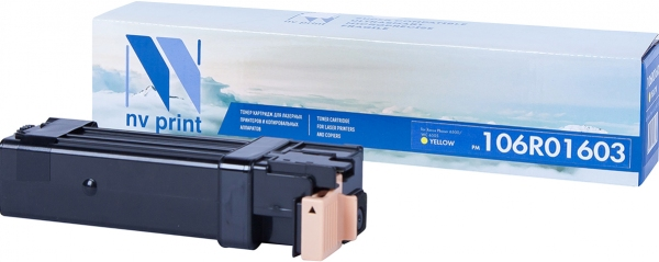 Картридж совместимый NVPrint 106R01603 для Xerox желтый