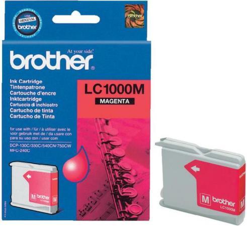 Картридж Brother LC1000M пурпурный оригинальный