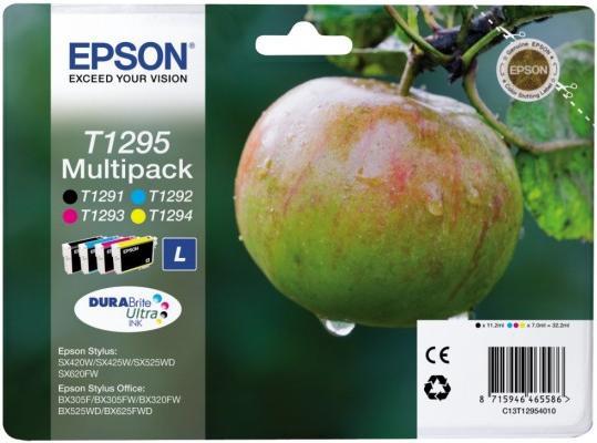 Картридж EPSON T12954010 четырехцветный оригинальный