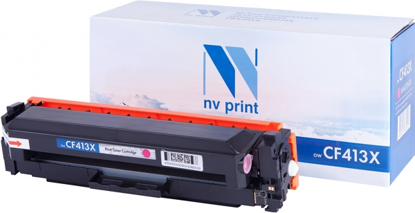 Картридж совместимый NVP CF413X пурпурный для HP