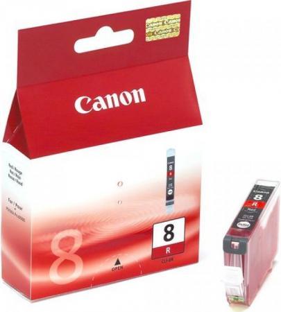 Картридж CANON CLI-8R красный оригинальный