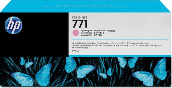 Картридж HP № 771 светло-пурпурный оригинальный