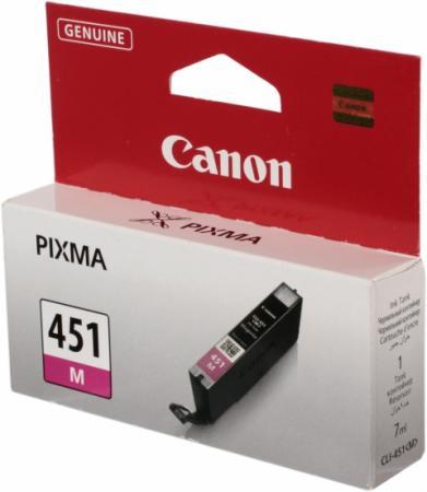 Картридж Canon 451M пурпурный оригинальный