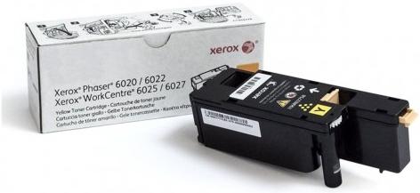 Принт-картридж Xerox 106R02762 желтый оригинальный