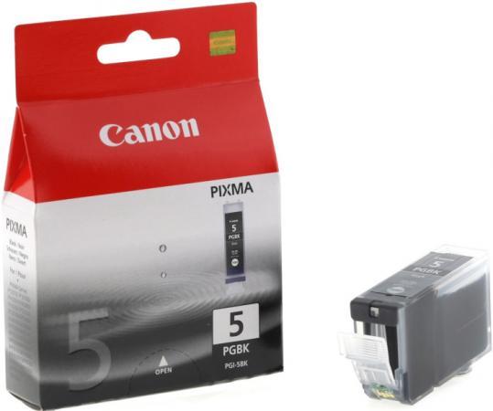 Картридж Canon Ink PGI-5BK оригинальный