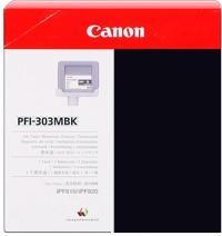 Картридж CANON PFI-303MBK черный матовый оригинальный