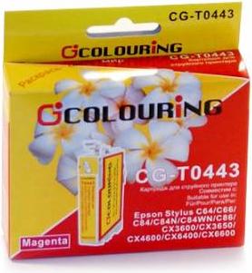 Картридж совместимый Colouring 0443 для Epson пурпурный