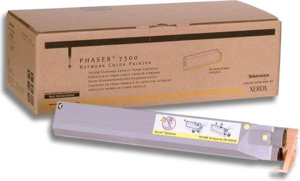 Тонер-картридж XEROX 016197500 желтый оригинальный