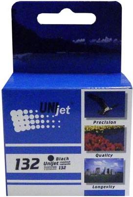 Картридж совместимый Unijet C9362 (132) черный для HP