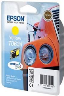 Картридж EPSON T06344A желтый оригинальный