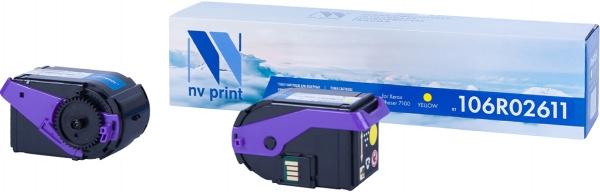 Картридж совместимый NVPrint 106R02611 для Xerox желтый