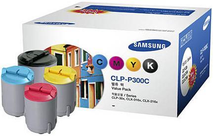 Набор картриджей Samsung P300C 4 цвета оригинальный