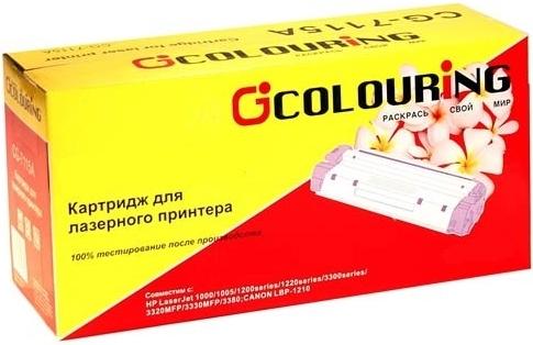 Картридж совместимый Coloring CE311A/CF351A/729 голубой для HP / Canon