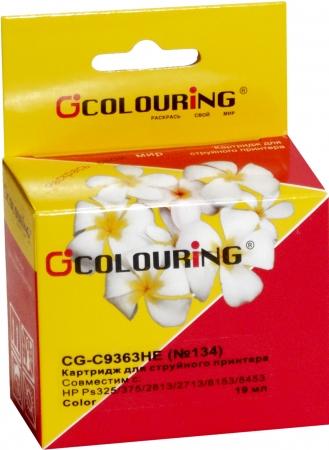 Картридж совместимый Colouring C9363HE №134 для HP Color