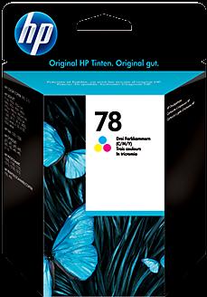 Картридж HP C6578D цветной оригинал