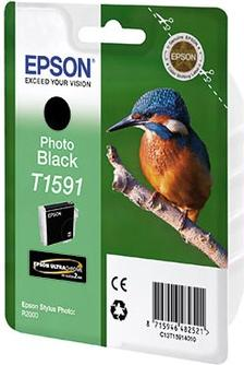 Картридж EPSON T15914010 черный-фото оригинальный