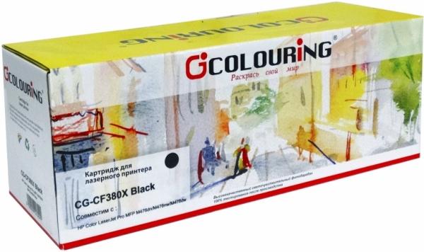 Картридж совместимый Colouring CF380X для HP