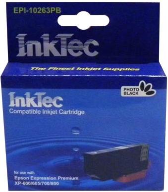 Картридж совместимый InkTec T2631 фото черный для Epson