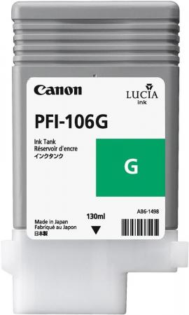 Картридж CANON PFI-106 G зеленый оригинальный