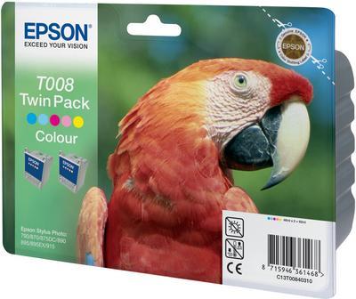 Картридж EPSON T008403 трехцветный оригинальный