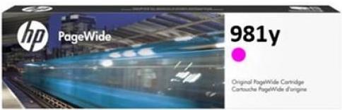 Картридж для HP L0R14A 981Y пурпурный оригинальный