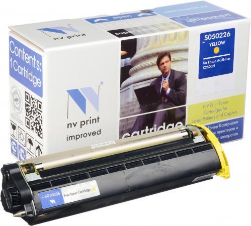 Картридж Epson S050226 желтый совместимый NV Print