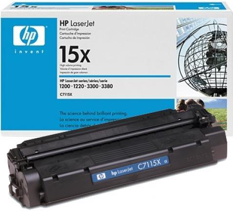 Картридж HP C7115X черный оригинальный