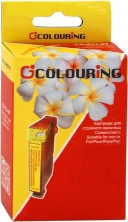 Картридж совместимый Colouring 0632 для Epson голубой