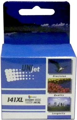 Картридж совместимый Unijet CB338 (141XL) цветной для HP