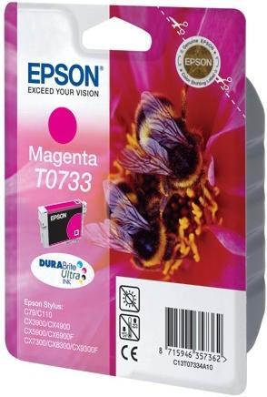 Картридж EPSON T07334A пурпурный оригинальный