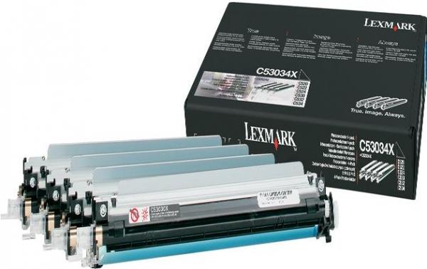 Набор черного и цветных фотобарабанов LEXMARK C53034X Dr.Unit оригинальный