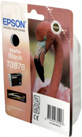Картридж EPSON T08784010 матовый черный оригинальный