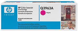Картридж HP Q3963A пурпурный оригинальный