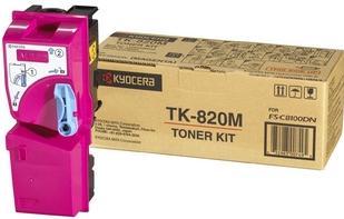 Картридж Kyocera TK-820M пурпурный оригинальный