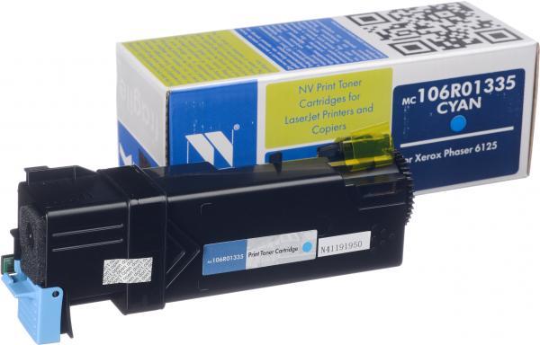 Картридж Xerox 106R01335 голубой совместимый NV Print